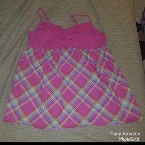 Cacique Lane Bryant Size 34/36 5X Pink Nightie